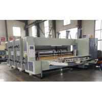 Buy cheap Corrugated Carton Box Printing Slotting Die Cutting Machine Automatic Energy Saving from wholesalers