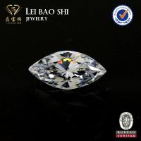 China 5A Grade(Korean machine cut) White Marquise Brilliant faceted gemstone Cubic Zirconia on sale