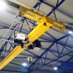 Buy cheap Europe Standard Overhead Crane , Overhead crane with european type electric hoist from wholesalers