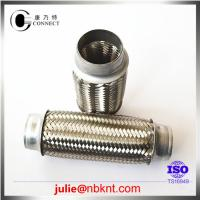 Double braided exhaust flex pipes joints Manufactures