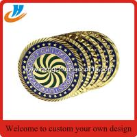 Buy cheap Challenge coins,any shape Coins Military with different edge options from wholesalers