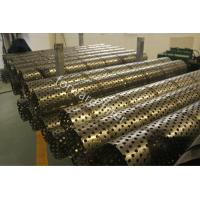 Buy cheap Durable Sand Control Screens Mesh For Oil & Gas Industry , Perforated Stainless Steel Pipe from wholesalers
