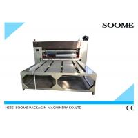 Buy cheap Chain Paper Feeder Flexo Printer Slotter Die Cutter , Automatic Corrugated Box Making Machine from wholesalers