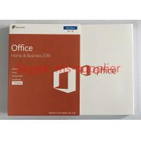 Buy cheap Microsoft Office 2016 Home and Business For Windows PKC Version Retail Box DVD Media from wholesalers