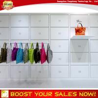 Buy cheap Special bag store floating wall shelf design for shop decoration from wholesalers
