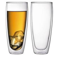 Buy cheap Borosilicate Double Wall Glass Cup from wholesalers