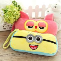 Personalized Cartoon Plush Disney Owl Pencil Case with Zipper Manufactures