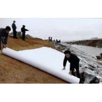 Buy cheap PET Staple Fiber Geotextile Road Fabric from wholesalers