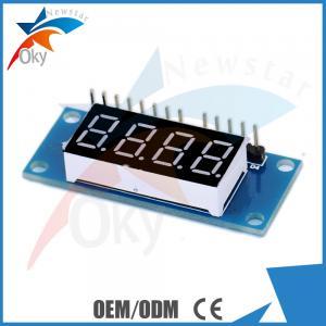 China 4 Bits Digital Tube LED Display Module With Clock Display TM1637 on sale