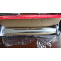 Buy cheap Household Food Grade Aluminum Foil Wrapping Paper 100 - 600mm Width from wholesalers