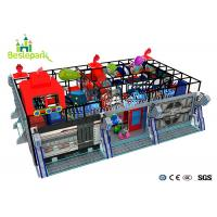 Wholesale Custom Made Indoor Adventure Playground Colorful Theme With EVA Cover from china suppliers