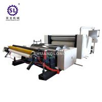 Buy cheap 2-10 MPa ALU Foil Embossing Machine With Automatic Tension Control from wholesalers