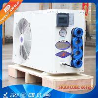 Buy cheap Thermostatic Air source Swimming Pool Heat Pump Pool Heater Pump from wholesalers