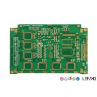 Buy cheap Multilayer Rigid Pcb Power Board 6 Layers ENIG Finish Surface Treatment from wholesalers