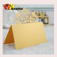 Gold royal crown Wedding Table Place Cards , Name Tags For Wedding Tables
