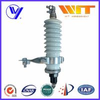 Wholesale 60KV High Voltage Porcelain Surge Arrester for Electrical Transformer from china suppliers
