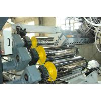 Buy cheap High Tension Fireproof Conical Pvc Sheet Production Line 0.5 - 2mm Sheet Thickness from wholesalers