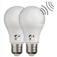 Buy cheap Cool White Smart LED Automatic Sensor Light Bulb Non Dimmable SMD2835 Chip from wholesalers