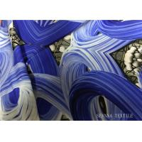 Buy cheap Nylon Screen Printing Double Knit Jersey Fabric , Solid Bodysuits Lightweight Knit Fabric from wholesalers