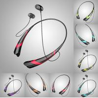Buy cheap V4.0 EDR Sports noise cancelling bluetooth earbuds / headset for music and calls from wholesalers