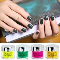Buy cheap Green Color Glitter Nail Fast Drying Dip Powder 2OZ/jar dipping powder nails system from wholesalers