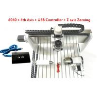 Buy cheap 4 Axis USB Controller CNC 6040 3D CNC Router With 800w / 1.5kw Water Cooled Spindle from wholesalers