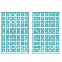 Buy cheap Self-adhesive Templates, Reusable Self-adhesive Stencil for Art, Scrapbooking and Collage from wholesalers