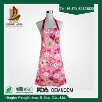 Child's Lovely Funny Aprons Girls Cupcake Shop Fashion Apron with Pocket Manufactures