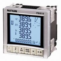 Buy cheap U/I/P/Q/S Three-phase Smart Digital Energy Meter with Maximum LCD Screen for Monitoring from wholesalers