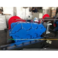 Buy cheap Pulling Drum Electric Wire Rope Winch 25T 9M/Min 500m Lifting from wholesalers