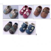 Buy cheap large quantity toddler's shoes genuine leather footwear stock inventory for wholesale from wholesalers