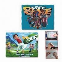 Buy cheap Microfiber Cleaning Cloth, Can Make Photo Printing on Microfiber, Suitable for Promotions and Gifts from wholesalers