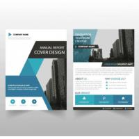 Buy cheap Ultra Flat Corporate Business Brochure , Recycled Corporate Bifold Brochure from wholesalers
