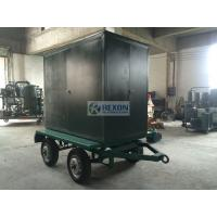 Wholesale ZYD-WM-100 6000LPH Vacuum Oil Filter Machine , Mobile Transformer Oil Treatment Plant from china suppliers