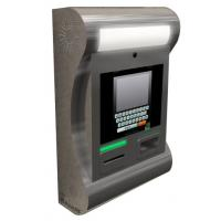 SJ10 onwall stainless steel kiosk with thermal printer, contactless and 2D barcode reader Manufactures