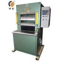 Buy cheap PLC Control High performance Hydraulic Heat Press Machine With Two Opening 50T from wholesalers