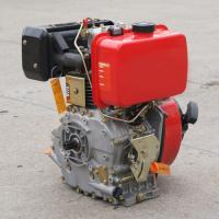Buy cheap Single cylinder air cooled 4 stroke 170f marine diesel engine with gear boxes from wholesalers