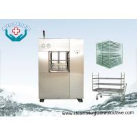 Electric Vertical Lift Double Door Autoclave With Easy Access Loading Trolleys Manufactures