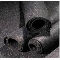 Buy cheap Recycled Rubber Granules Rubber Gym Flooring 1-1.2M Width Noise Reduction from wholesalers