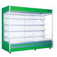 Buy cheap Fan Cooling Fruit Display Milk Dairy Showcase Supermarket Refrigeration Equipment from wholesalers