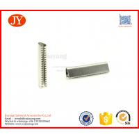 Buy cheap Hot sale silver metal aglets for cord locks custom shoe lace aglets from wholesalers