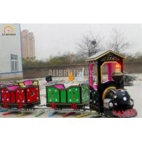 Buy cheap Indoor Or Outdoor Amusement Train Rides , Electric Train Rides 220 V 50 Hz from wholesalers