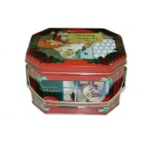 Buy cheap Customized Metal Octagon Box For Gift Packing , Food Grade Octagon Gift Box from wholesalers