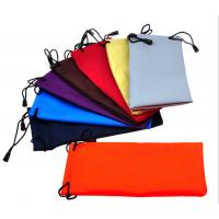 Buy cheap Microfiber Cloth Glass Case Microfiber Clothing Pouches For Glass from wholesalers