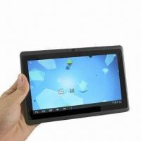 Buy cheap Super Slim Android 4.0 7-inch Tablet PC, Allwinner A13 1.2GHz 512MB 4GB, Wi-Fi USB, 3G, 1.3MP Camera from wholesalers
