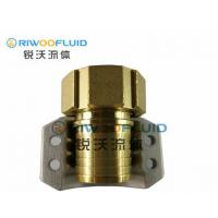 Buy cheap 1/2-4 Brass Camlock Coupling , 6 Inch Camlock Fittings CW614N Forging Copper Material from wholesalers