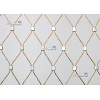 Buy cheap 100% Install Flexible Stainless Steel Wire Cable Mesh by Candurs China from wholesalers