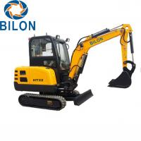 Buy cheap 2.2T Road Builder Excavator Small Mini Excavator With 2200 Kg Operating Weight from wholesalers