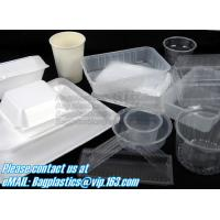 Buy cheap Airtight leakproof microwave custom rectangle plastic meal compartment bento lunch box food storage container with FOOD from wholesalers