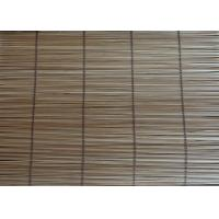 Buy cheap Natural Carbonized Bamboo Roll Up Curtains Corrosion Resistant House Use from wholesalers